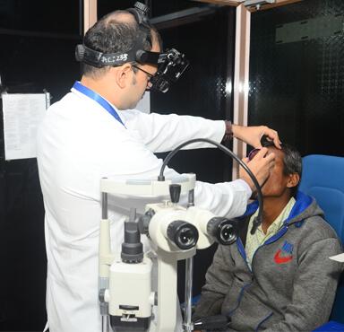 MMJ - Eye Check up
