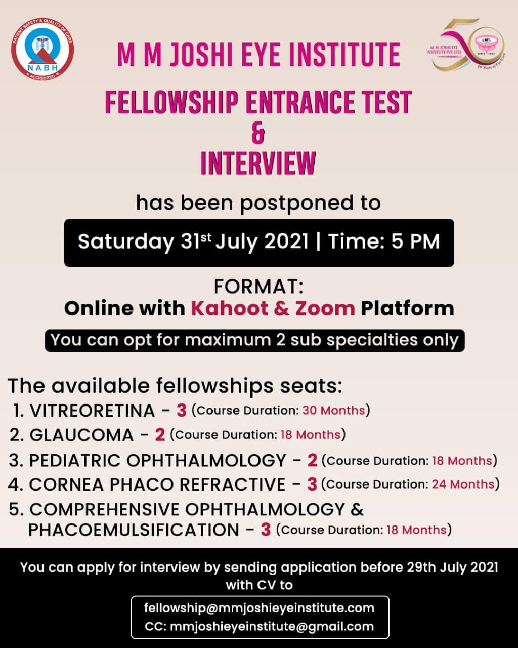 Fellowship - 2021